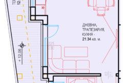 Двустаен апартамент НОВО СТРОИТЕЛСТВО в кв. Южен, гр. Пловдив